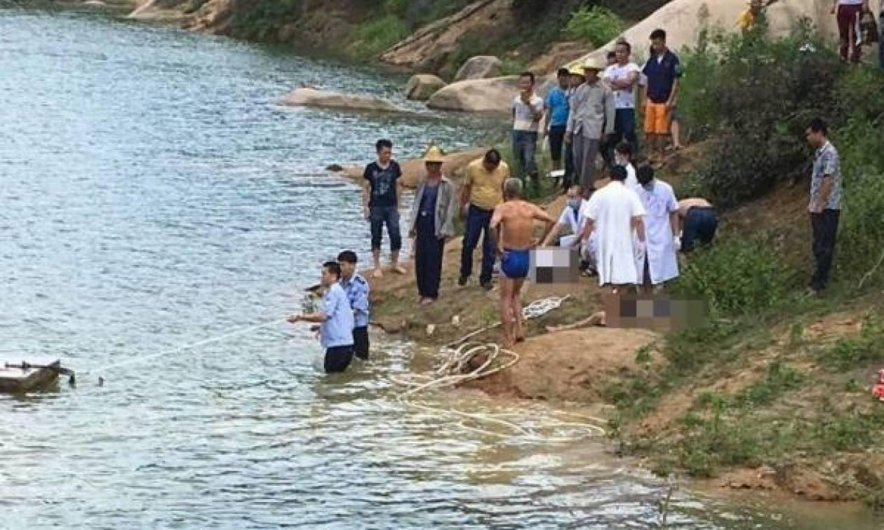 Θρήνος στην Κίνα: Πνίγηκαν ενώ γιόρταζαν το τέλος των εξετάσεων (pic)