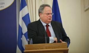 «Θρασύτατη ενέργεια» - Σφοδρή αντίδραση ΥΠΕΞ για το πανό στον αγώνα Αλβανίας - Ελβετίας