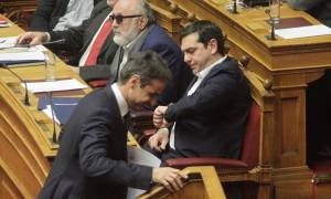 Σημαντική φθορά του ΣΥΡΙΖΑ, προβάδισμα 5,2 μονάδων της ΝΔ