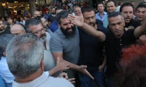 Νέα ένταση - Αναβλήθηκε η ομιλία Κατρούγκαλου στο Ηράκλειο (pics)