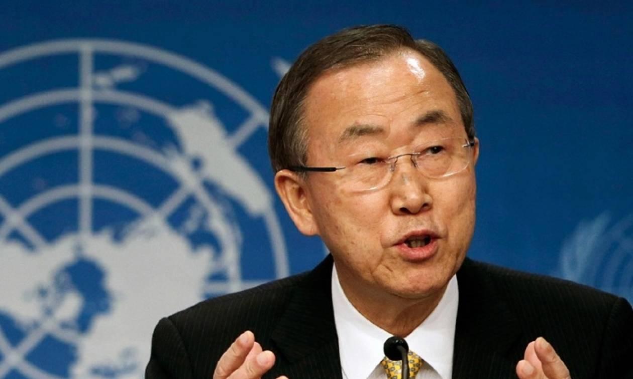 Μυτιλήνη: Στο νησί, το Σάββατο 18 Ιουνίου, ο γγ του ΟΗΕ Μπαν Κι Μουν