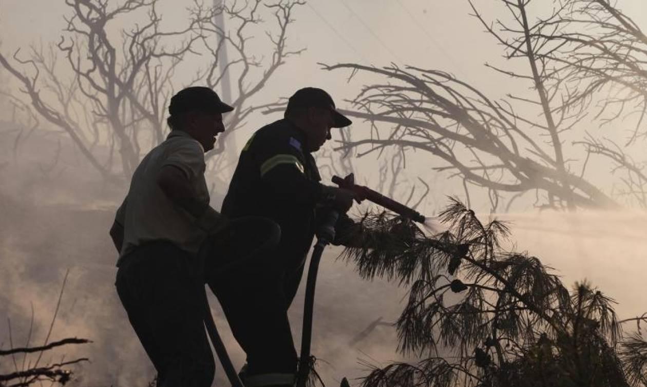 Ηράκλειο: Συνελήφθη 73χρονος ως υπαίτιος πυρκαγιάς