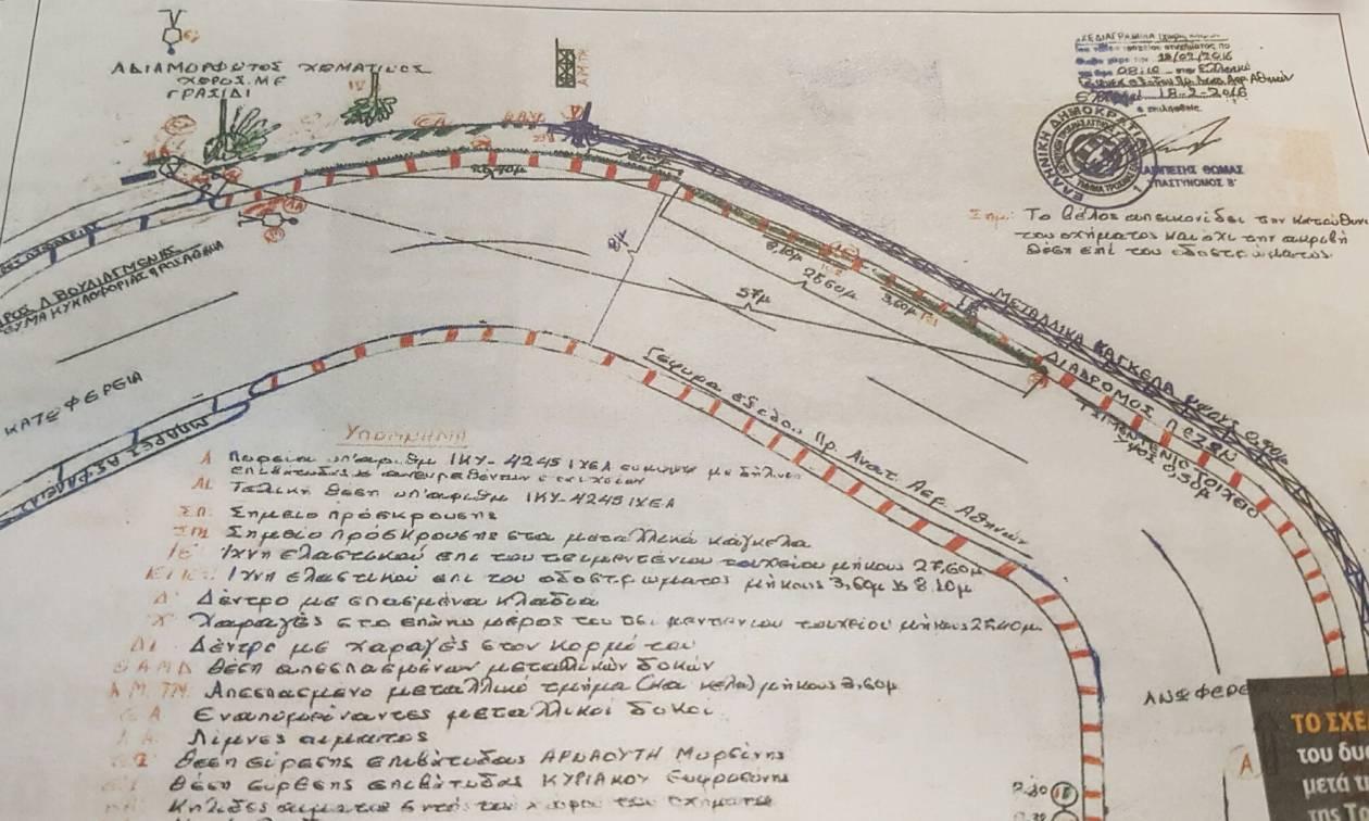 Παντελής Παντελίδης: Τι δείχνει το σχεδιάγραμμα της Τροχαίας