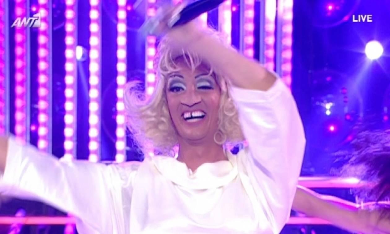 YFSF 3: Ο Δήμος Μπέκε έκανε τους κριτές να «κλάψουν» από τα γέλια ως Celia Cruz