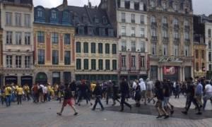 EURO 2016: Συγκρούσεις Γερμανών και Ουκρανών λίγη ώρα πριν την αναμέτρηση στην Λιλ