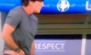 Euro 2016: Αηδία από Λεβ! Τα… έξυσε και… μύρισε! (videos)