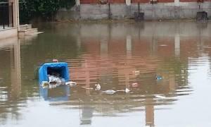 Κέρκυρα: «Πνίγηκε» το νησί από την κακοκαιρία (photos)