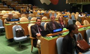 Ο πρόεδρος του ΚΕΕΛΠΝΟ στην Παγκόσμια Διάσκεψη του ΟΗΕ για το AIDS