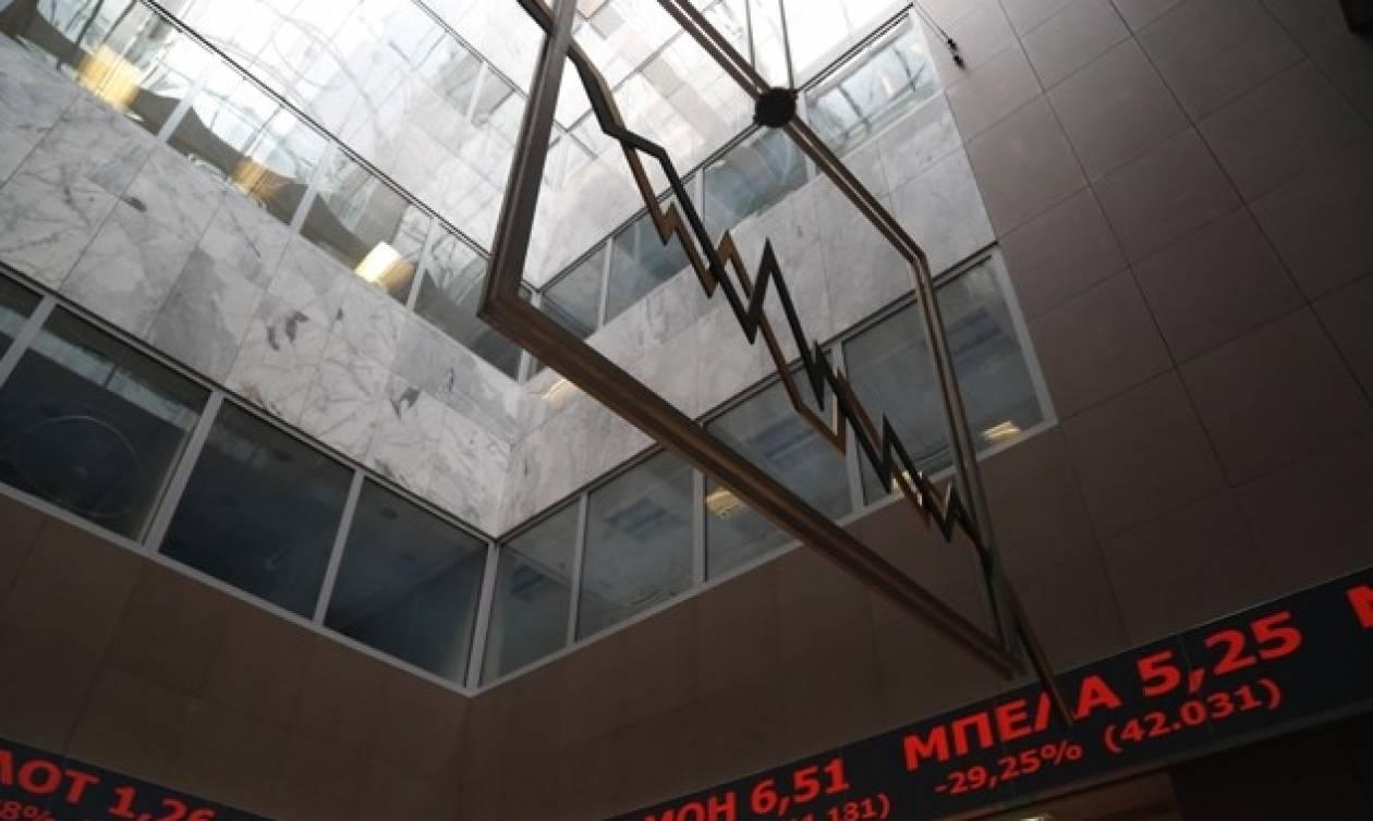 «Βουτιά» στο Χρηματιστήριο Αθηνών