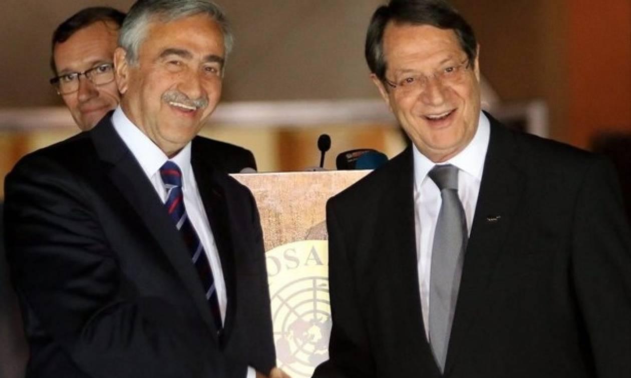 Κύπρος: Σε λύση του Κυπριακού ελπίζουν Αναστασιάδης - Ακιντζί