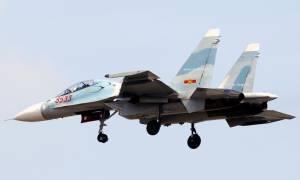 Θρίλερ στο Βιετνάμ: Αγνοείται μαχητικό αεροσκάφος Su-30