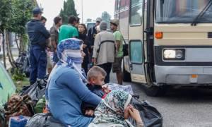 Ειδομένη: Νέα επιχείρηση εκκένωσης άτυπων καταυλισμών