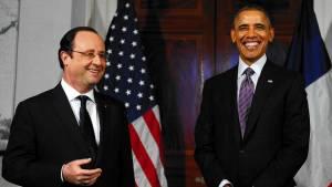 Ομπάμα και Ολάντ συμφώνησαν σε δυναμικότερη συνεργασία για την αντιμετώπιση του ΙΚ