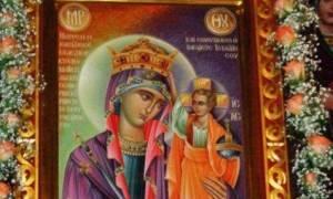 Η Εικόνα της Παναγίας Βασίλισσας στις Αφέτες Πηλίου Βόλου