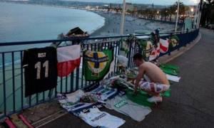 Euro 2016: Φόρος τιμής στο σημείο που «έφυγε» ο Βορειοϊρλανδός οπαδός