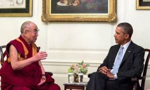 O Ομπάμα υποδέχθηκε τον Δαλάι Λάμα στο Λευκό Οίκο - Αντιδρά η Κίνα