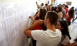 Πανελλήνιες 2016: Σήμερα (16/6) τα στατιστικά στοιχεία - Την Παρασκευή οι βαθμοί των υποψηφίων