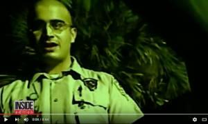 Ο μακελάρης του Ορλάντο σε βιντεοσκοπημένο υλικό από κρυφή κάμερα (Vid)