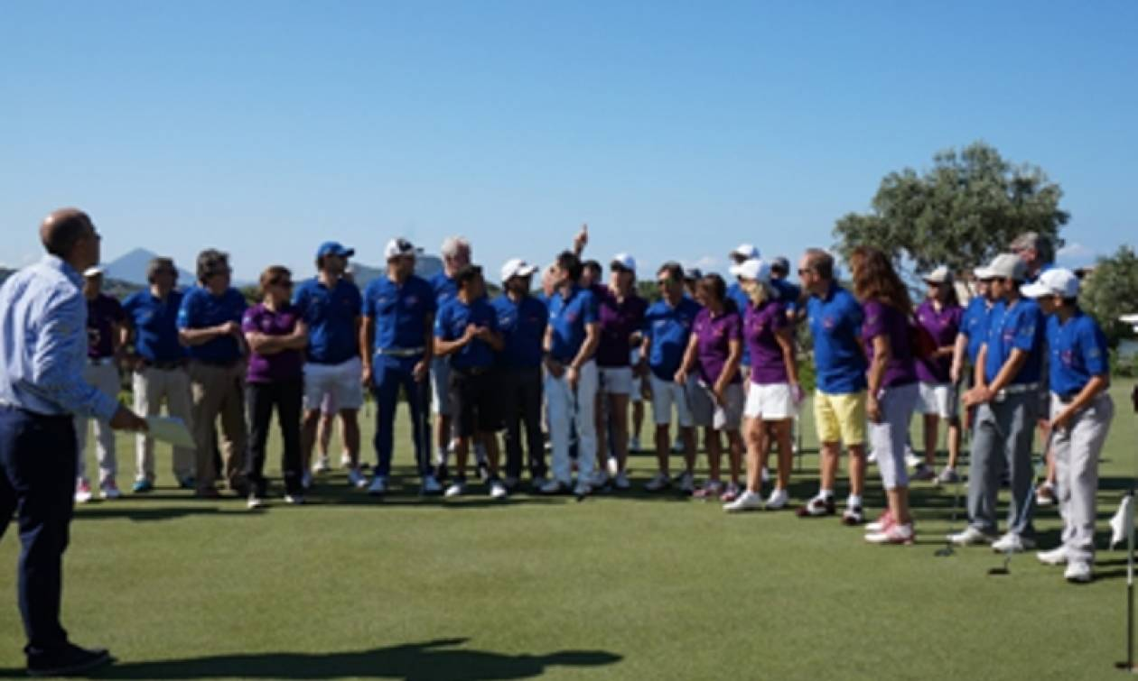 Costa Navarino: 10ο World Stars golf charity tournament