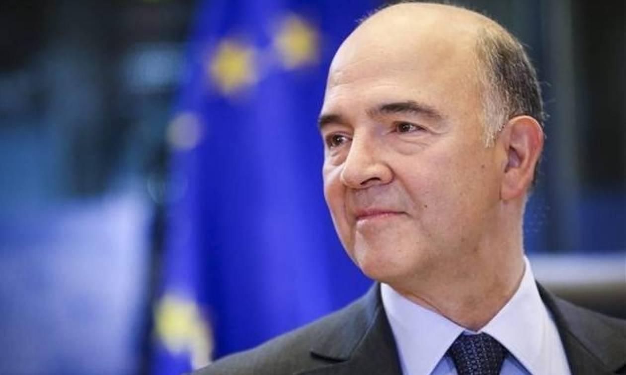 Μοσκοβισί: Η Ελλάδα θα βρει οξυγόνο με τα 7,5 δισ.