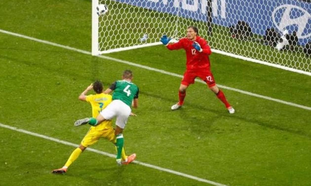 Euro 2016 - Ουκρανία - Βόρεια Ιρλανδία 0-2: Τους έστειλαν σπίτι τους