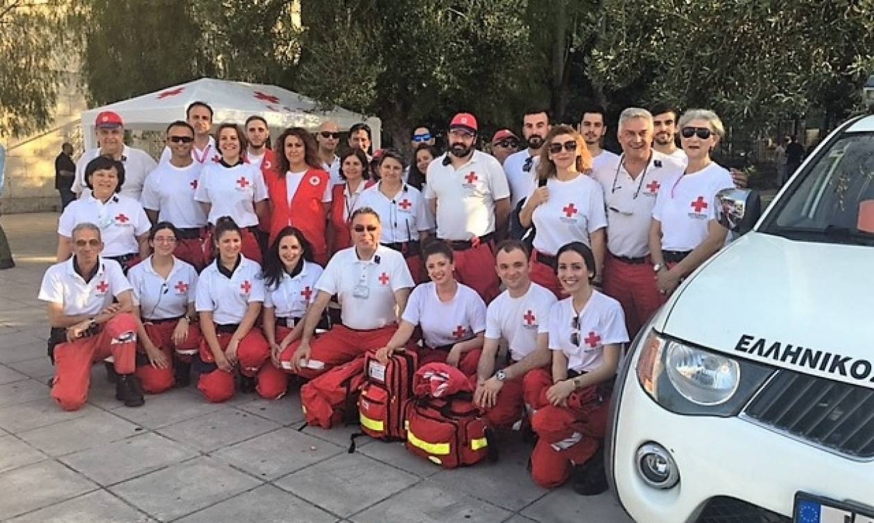 «Παρών» ο Ελληνικός Ερυθρός Σταυρός στη μεγάλη συναυλία στο Καλλιμάρμαρο