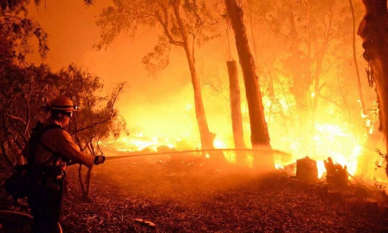 ΗΠΑ: Ανεξέλεγκτες πυρκαγιές στην Καλιφόρνια απειλούν σπίτια (pics)