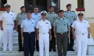 Επίσκεψη Αρχηγού ΓΕΝ στην Ανώτατη Διακλαδική Σχολή Πολέμου και στην Ναυτική Διοίκηση Βορείου Ελλάδος