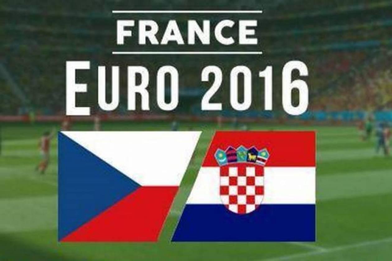Euro 2016: LIVE Τσεχία - Κροατία