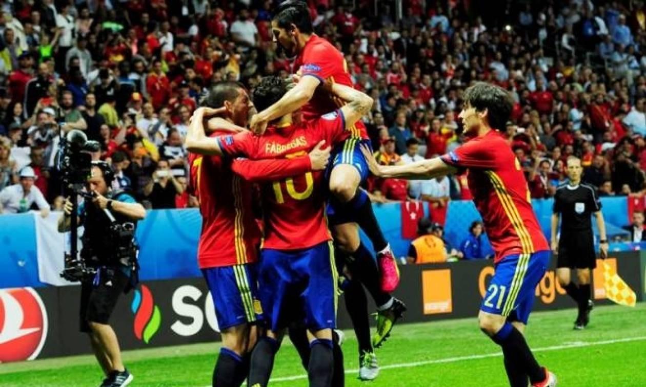 Euro 2016: Ισπανία - Τουρκία: Για πλάκα η πρωταθλήτρια Ευρώπης