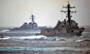 Τα πολεμικά πλοία των ΗΠΑ θα παραμείνουν στη Μαύρη Θάλασσα