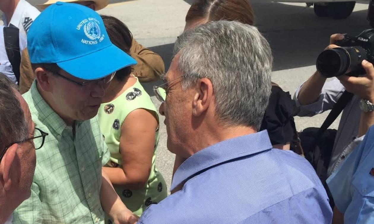 Στη Μυτιλήνη ο Μπαν Κι-μουν - Θα επισκεφθεί τον καταυλισμό της Μόριας