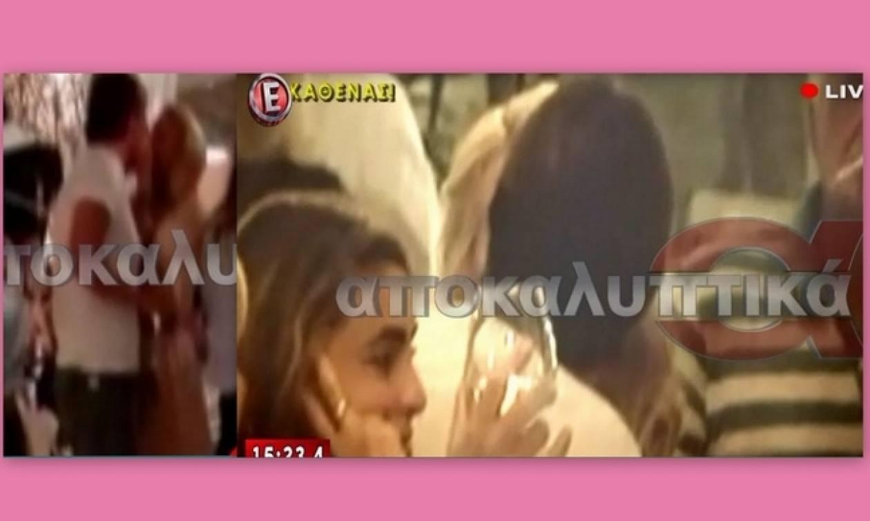 Μενεγάκη-Παντζόπουλος: Τα καυτά φιλιά τους στη Νάξο και η μικρή Μαρίνα