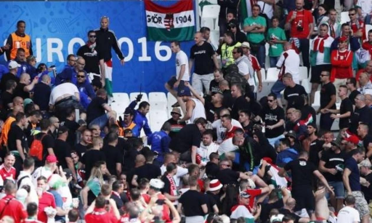Euro 2016: Ναζιστικοί χαιρετισμοί από Ούγγρους! (photo)