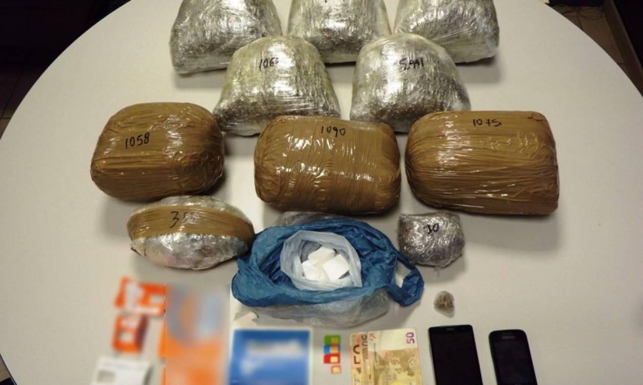 Θεσσαλονίκη: Συνελήφθη 33χρονος διακινητής ναρκωτικών ουσιών