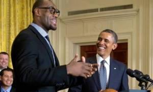 NBA: Τρελάθηκε… με ΛεΜπρόν ο Ομπάμα! (tweet+video)