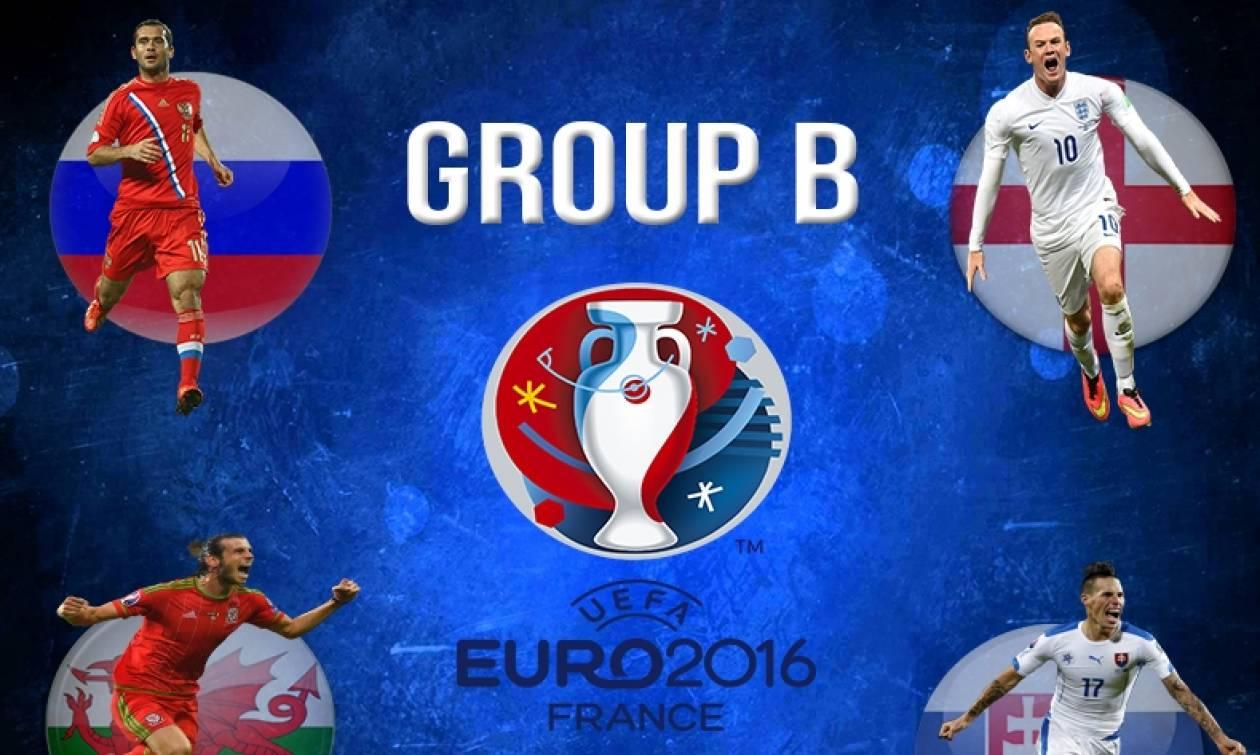 Euro 2016 Live: Σλοβακία - Αγγλία και Ρωσία - Ουαλία