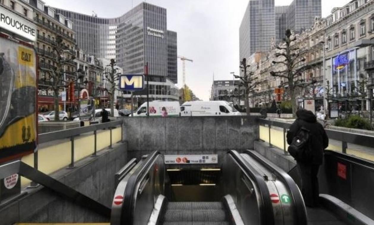 Εκκενώθηκαν σταθμοί του Μετρό στις Βρυξέλλες (pics)