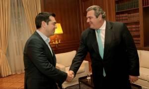 Τώρα: Συνάντηση Τσίπρα-Καμμένου με «φόντο» τον εκλογικό νόμο
