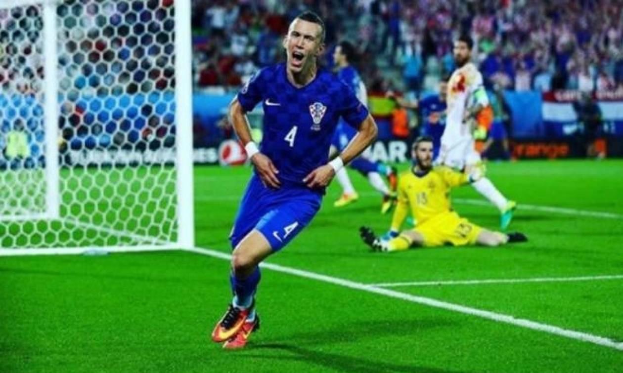 Euro 2016 Κροατία - Ισπανία 2-1: Επική ανατροπή και... τιμωρία στη δεύτερη θέση! (photos)