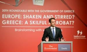 Μητσοτάκης από Economist: Ανάγκη για μία νέα συμφωνία με τους εταίρους