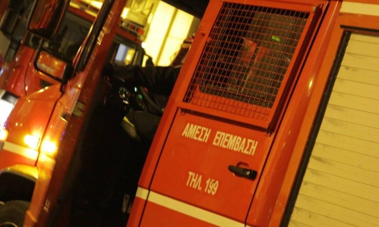 Πανικός στη Θεσσαλονίκη με φωτιά
