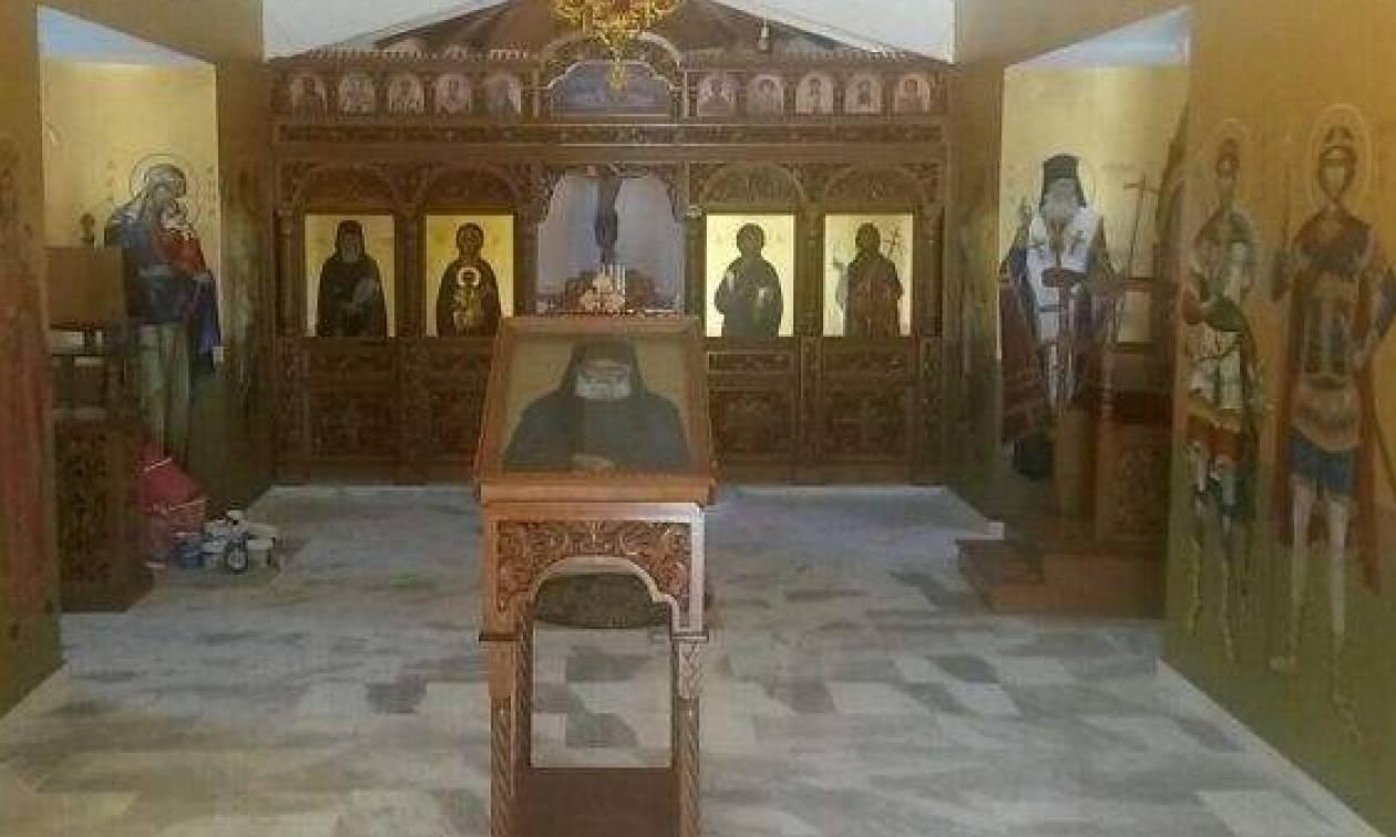 Θυρανοίξια του ναού Αγίου Παΐσιου στον Αμπελώνα Λάρισας