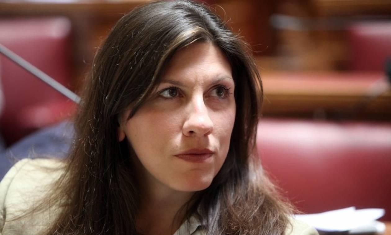 Κωνσταντοπούλου: Η κοινωνία πρέπει να σταθεί και πάλι στα πόδια της