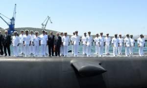 Τελετή ονοματοδοσίας και ύψωσης σημαίας των υποβρυχίων ΜΑΤΡΩΖΟΣ και ΚΑΤΣΩΝΗΣ (pics)