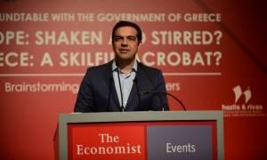 Τσίπρας από Economist: Νέος εθνικός στόχος η Ελλάδα του 2021 να επιστρέψει στην κανονικότητα