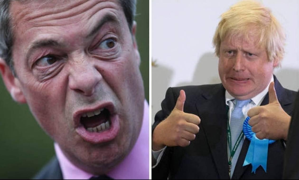 Δημοψήφισμα Βρετανία: Παραδοχή ήττας του Brexit από Φάρατζ και Τζόνσον;