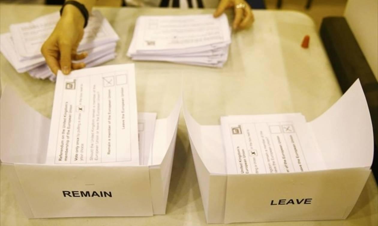 Δημοψήφισμα Βρετανία: Ξανά μπροστά το Brexit με 53,1%