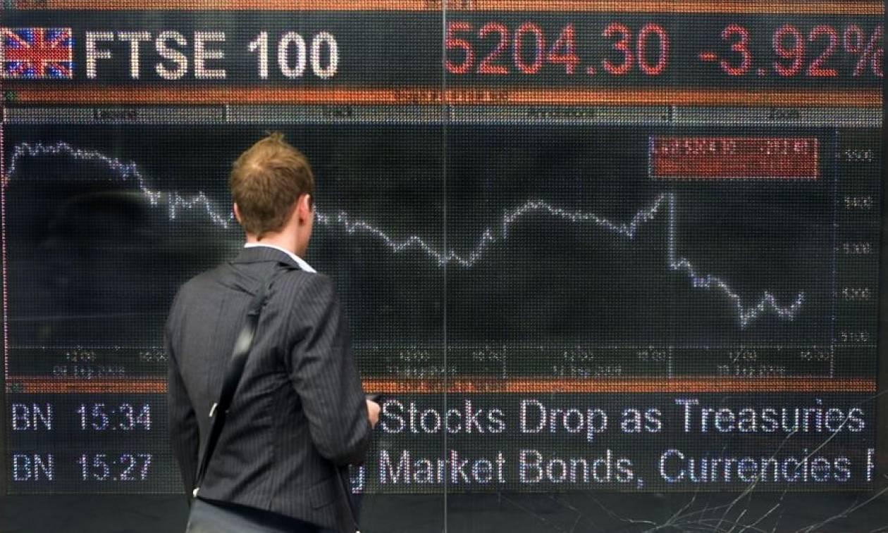 Aποτελέσματα Brexit: Βυθίζεται ο FTSE 100 στη χειρότερη πτώση από την αρχή της κρίσης