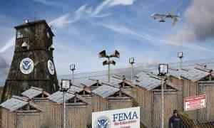 Βίντεο από το νέο στρατόπεδο της FEMA στο Τέξας